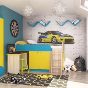 Детская комната Карамель Композиция 3