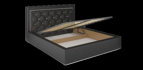 Интерьерная кровать  с подъемным механизмом и дном  ОСКАР 73 — 2