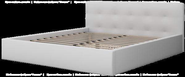 Интерьерная кровать под независимое основание  ОСКАР 73 без ортопедического основания