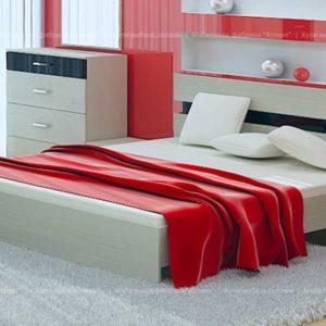 Кровать Сити 72 (160*200) с ортопедическим основанием