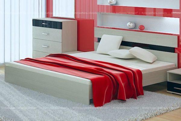 Кровать Сити 73 с ортопедическим основанием