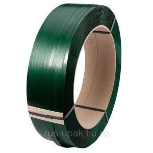 Лента п/пр 15,5х0,89 мм зеленая (1,25 км)